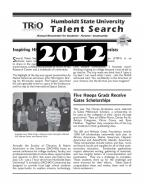 newsletter cover 2012