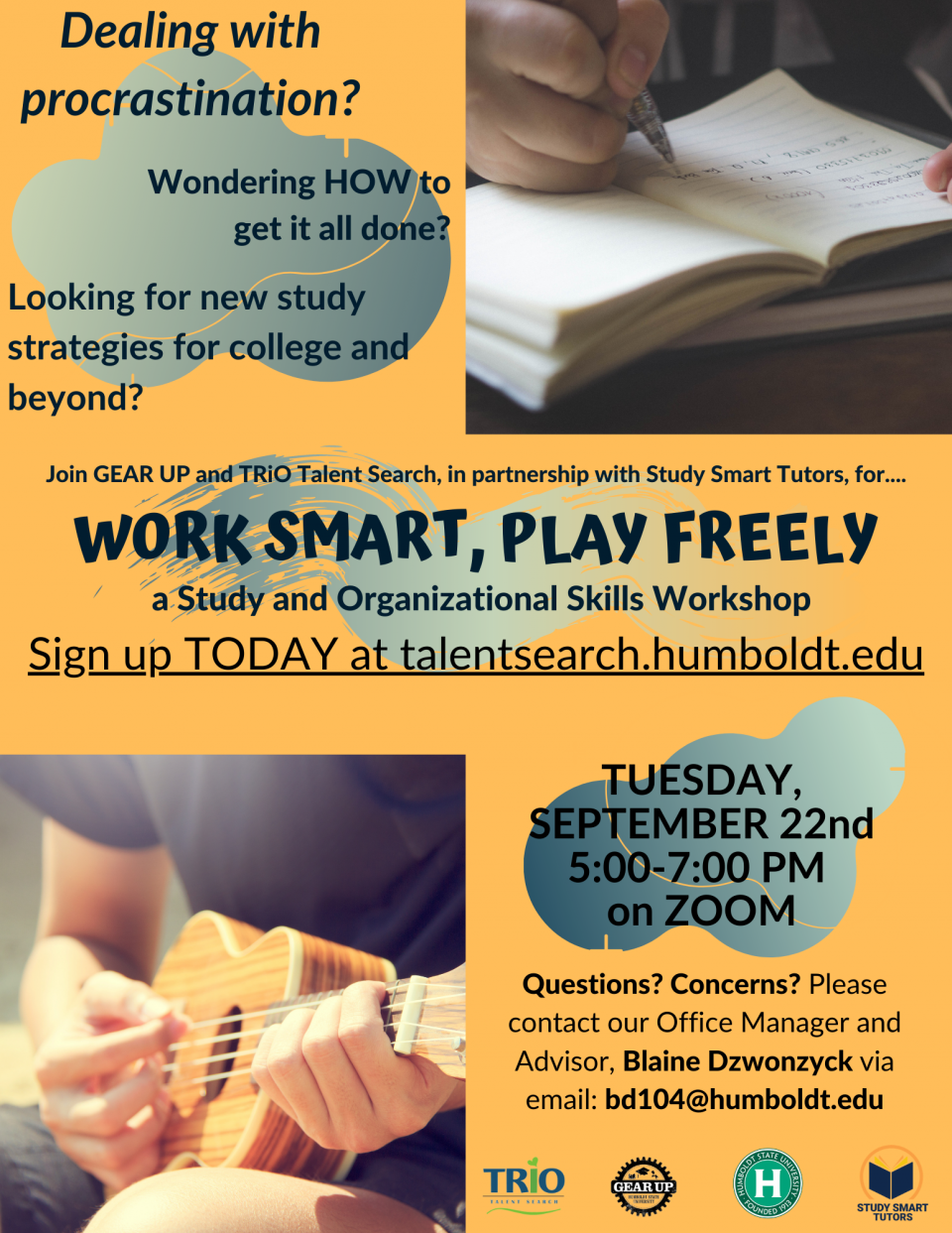 Work Smart Play Freely Flyer
